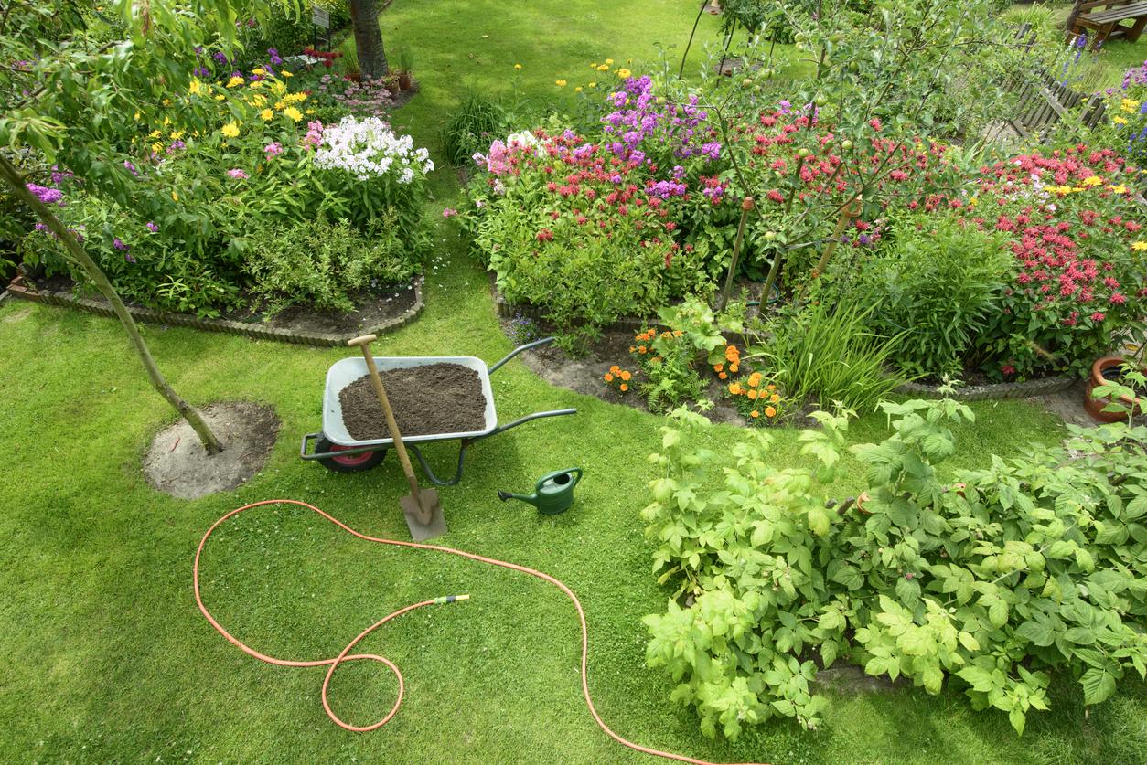 Der Garten als Nutzfläche